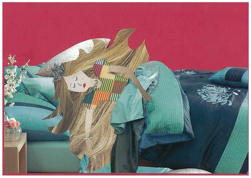Mixed media Sleeping Beauty on Flickr by Melanie Hughes / CC by 2.0