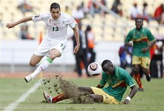 Karim Matmour   (menosultra) Tags: cup algeria football team african soccer egypt can mai national ago algerie coupe algrie karim 2010 angola afrique  luanda  socer ziani lquipe    algrienne  matmour yebda haliche