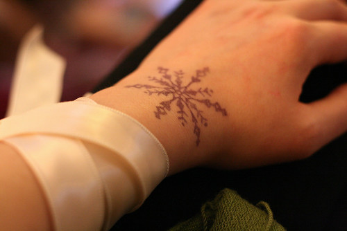Who wants to buy me a snowflake tattoo? Work tonight was great,
