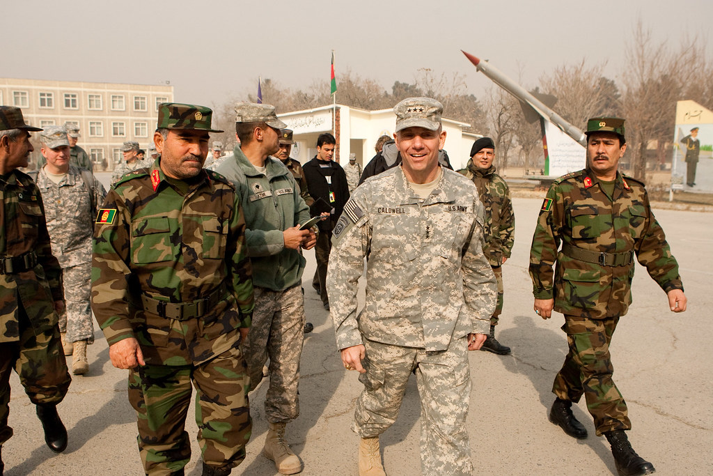 Lt. Gen  Caldwell visits the National Military Academy of Afghanistan