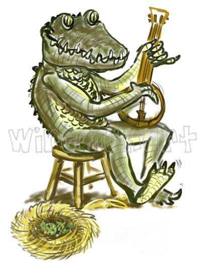 Animal and Instrument Illustration
