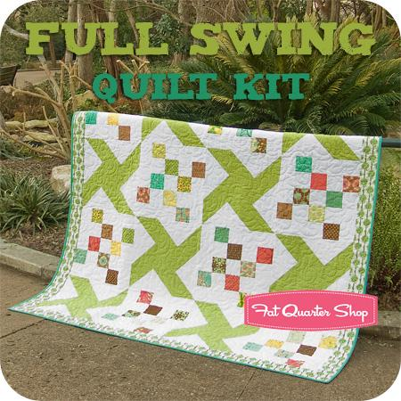 full swing quilt kit.