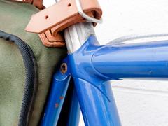 Eisentraut Model A Seat Cluster (rperks1) Tags: bicycle modela vintage phil steel berthoud lugs eisentraut acornbags