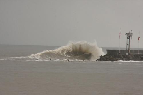 Sandspit El Nino 2010