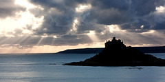 Beams, St Michael's Mount, Cornwall (Fin Wright) Tags: ocean sea canon landscape ian island eos landscapes cornwall mount national trust wright fin nationaltrust michaels stmichaelsmount cornish penzance marazion kernow ianwright 450d finwright finwrightphotographycouk finwrightphotography