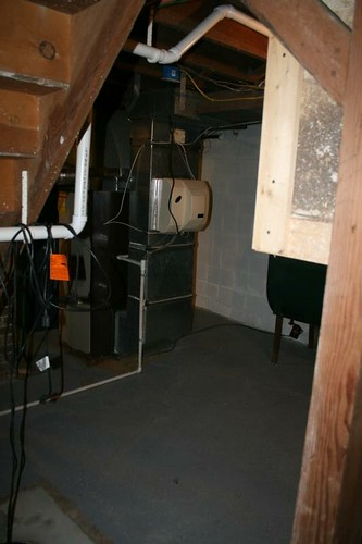 Furnace Area - Before