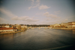 54330031-2 (Tara Holland) Tags: film analog print landscape prague postcard slidefilm viv vltava uws