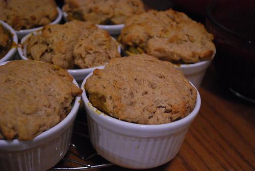 Tempeh & Delicata Squash Pot Pies