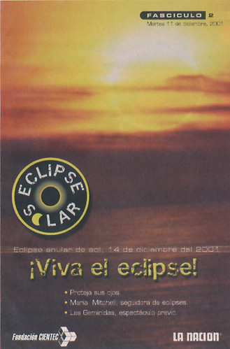 Folleto educativo 2, Eclipse Anular 2001