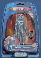 Earthshock Cyberman Carded