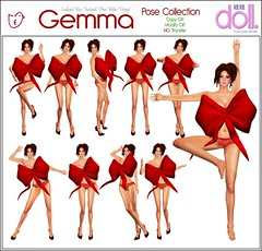 [doll.] GEMMA Pose Collection Fatpack