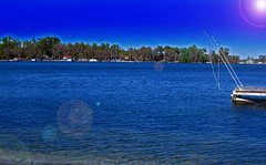 Lake in Lake Park, Edited (Creating Character) Tags: lake water edited lakepark