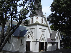 Old St. Paul's Church in Wellington
