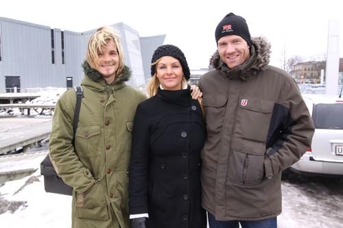 Me, my sister, and her boyfriend Lasse. Middelfart, Denmark.