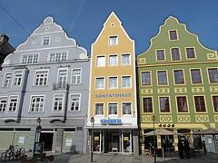 Theresienstrae, Ingolstadt (twiga_swala) Tags: old architecture buildings germany bayern bavaria town german vernacular altstadt bavarian ingolstadt theresienstrase