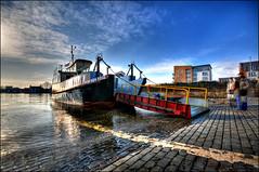 Renfrew-Yoker Ferry (firefighter.kevin) Tags: ferry river scotland clyde boat crossing glasgow scottish renfrew yoker