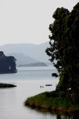 Lake Bunyonyi 3/3 (eggpost) Tags: green water shadows hills uganda kabale bunyonyi lakebunyonyi yourwonderland