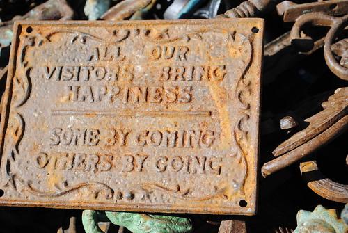 rust plaque