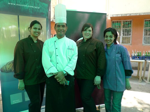 With Pastry Chef Javed of Novotel
