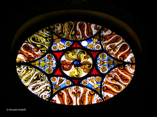 Kirchenfenster Kremsmünster