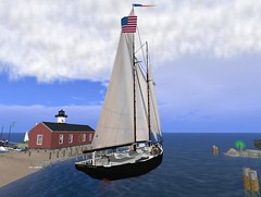 the Schooner Ernestina moored at the Tradewinds Yacht Club in Dex (Wildstar Beaumont) Tags: dex ernestina tradewindsyachtclub