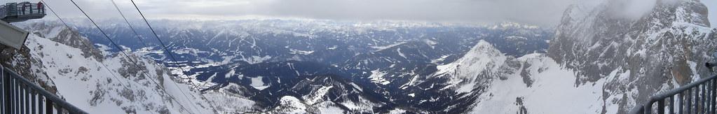 Dachstein panoráma