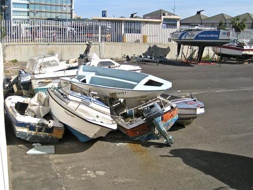 Marina Seca = Cementerio de barcos