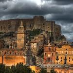 Caccamo (PA) - Il Castello visto da sud (HDR)