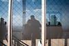 Through the glass (the_lighter) Tags: people paris france reflection tower love glass last nikon torre floor top eiffel francia vetro parigi riflesso d60