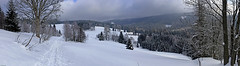 On the way from Modrava to Antygl (Pavel Vanik) Tags: winter panorama nature canon way eos czechrepublic bohemia 30d umava bohemianforest 1755is modrava