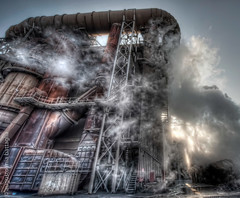 Steelworks company - Vicenza, Italy (Mia Battaglia photography) Tags: industry hdr afv beltrame steekworks