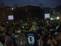 #metallicaccs : En la arena esperando