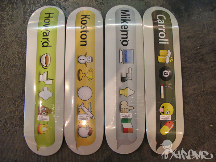 Girl Skateboards Spring 2010 Decks