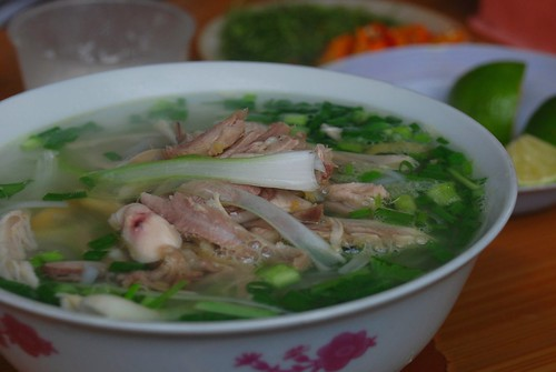 real chicken pho