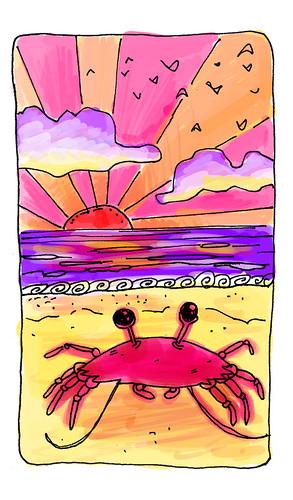 CrabOnABeach
