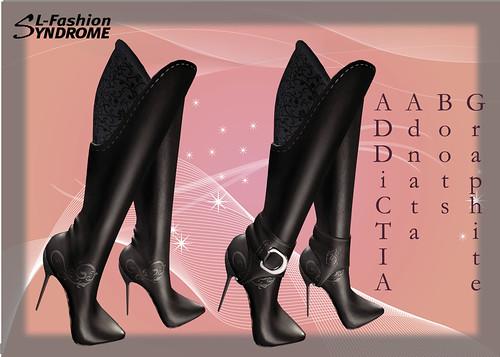 addictia boots graphite