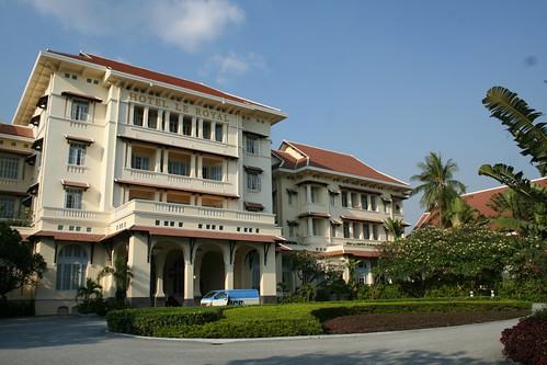 hotel le royal, phnom penh