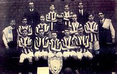 Image titled St Saviours football team, Govan, 1915.