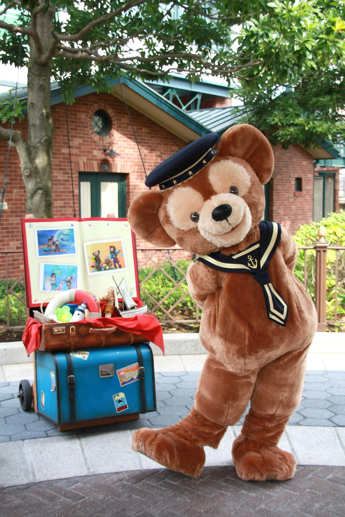 Duffy at Tokyo DisneySea