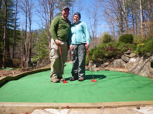 Mini golf @ Fontana Dam