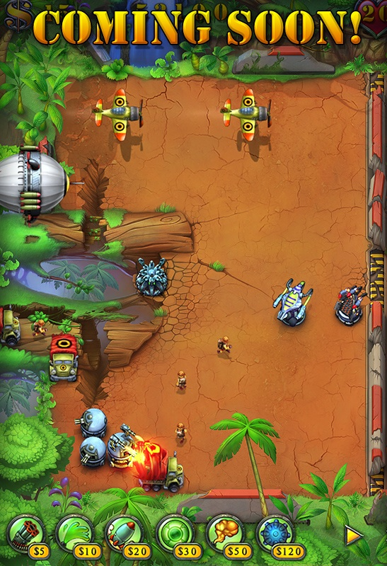 Screenshot Fieldrunners Amazonia