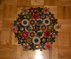 English Country Garden Blanket