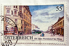 great stamp Austria 55c Vienna Floridsdorf Wien oldtown Altstadt stamp austria postage  0.55 / 55cent postes timbre autriche selo sello Austria bolli francobollo Mapka special issue stamp, commemorative issue, mission commmorative (stampolina) Tags: vienna wien city 2004 postes germany austria