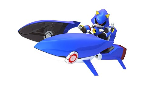 Sonic & SEGA All-Stars Racing - Metal Sonic