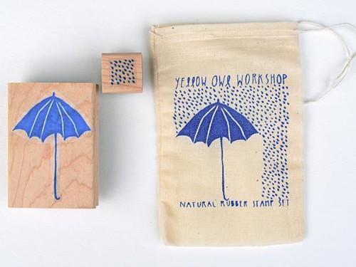 rainy day stamp set