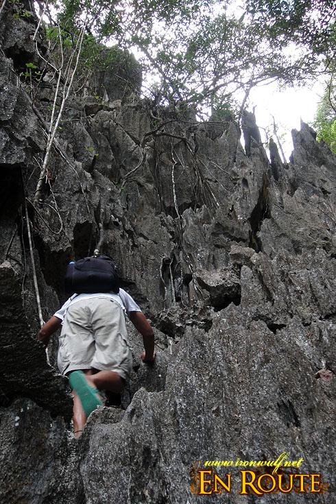 El Nido Taraw Limestones Climb
