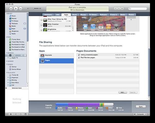 iPad Documents
