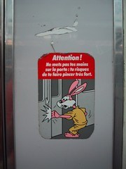 French train system's warning to you
