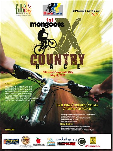 1st Mongoose X-Country Bike Race
