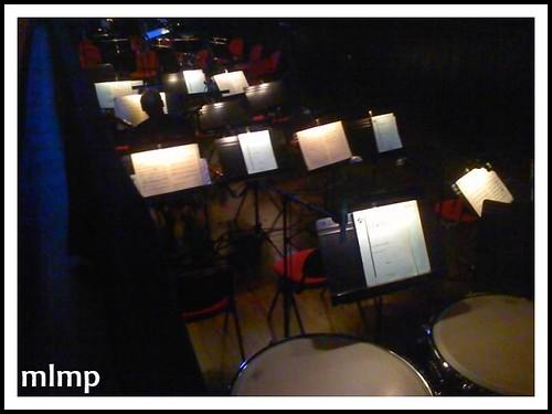 Avant que l'orchestre n'arrive.